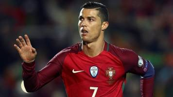 ronaldo scores two in portugal win