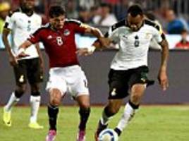 egypt 2-0 ghana: pharaohs maintain perfect start to world cup qualifying