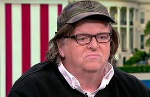 michael moore loses it: tells trump you lost, step aside, urges tom hanks to run for dems in 2020