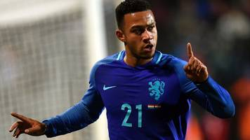 world cup qualifying: memphis depay scores two as netherlands beat luxembourg