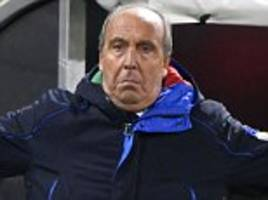 italy boss giampiero ventura wants early serie a start next season to aid plans for spain world cup qualifier