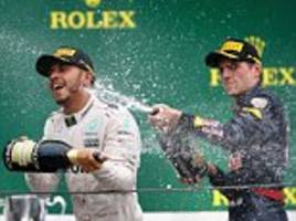 lewis hamilton left to curse red bull strategy after decision to pit max verstappen leaves nico rosberg stronger favourite to claim f1 title