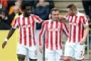 stoke city can secure rich pickings to set sail towards another...