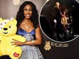 bbc cuts moment beverley knight collapses from children in need rocks performance