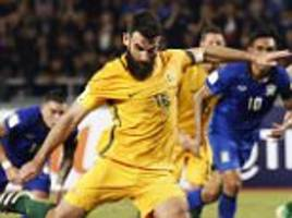australia shocked against thailand while south korea and japan win in asian world cup qualifying - round-up