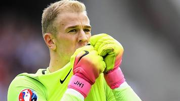 joe hart: england goalkeeper learning from euro 2016