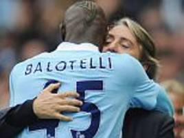 mario balotelli hails roberto mancini as his favourite manager... but says brendan rodgers was 'a disaster'