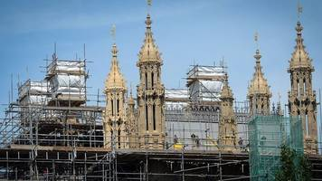 a behind the scenes look at the repairs needed at the houses of parliament
