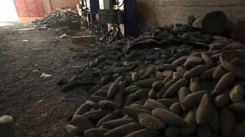 mosul battle: inside an islamic state mortar factory