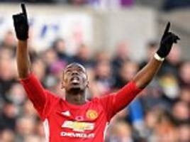 manchester united boss jose mourinho faces big selection decisions before arsenal visit... paul pogba's midfield partner could be key