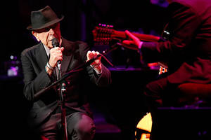 leonard cohen died from a fall, singer-songwriter's manager says