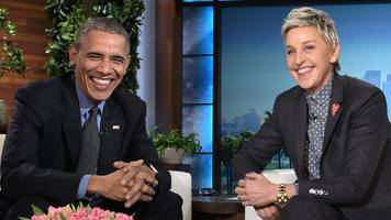 ellen degeneres among stars honoured by barack obama