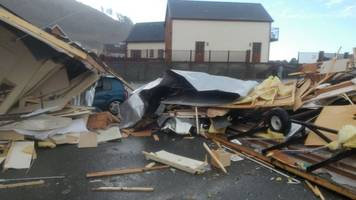 tornadoes hit wales and midlands