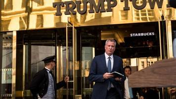 de blasio and trump square off in 'candid' trump tower meeting