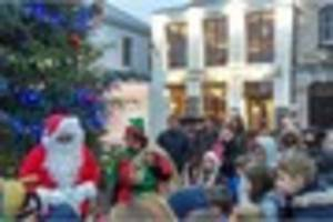 plymouth's barbican to become christmas wonderland this weekend