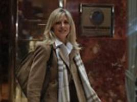 trump's second wife marla maples 'is hoping to become a un ambassador in africa' after her ex-husband's election
