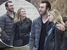 kate upton and justin verlander go sight-seeing at the vatican as their italian love-fest continues