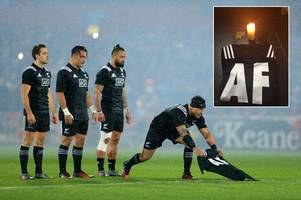 the remarkable thing that happened next to the maori all blacks jersey given to anthony foley's family