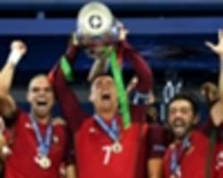 video: portugal captain ronaldo in emotional speech after euro 2016 triumph