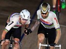 sir bradley wiggins and mark cavendish move into lead at ghent six day event
