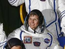 nasa astronaut becomes the oldest woman in space going to international space station