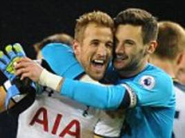 tottenham 3-2 west ham: harry kane deals double hammer blow to snatch late victory from the spot and maintain spurs' unbeaten record