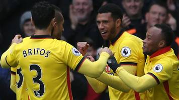leicester's poor away form continues with loss at watford