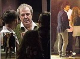 jeremy clarkson, richard hammond and james may celebrate with friends and family following their amazon prime debut