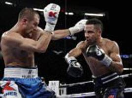 andre ward survives scare to beat sergey kovalev in las vegas and preserve 20-year unbeaten record