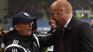 west bromwich albion v burnley - team news & preview