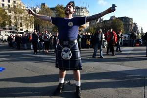 tartan army should quit lifting their kilts and start projecting the right image of scotland to the world, says lesley roberts