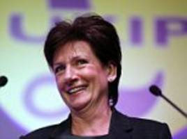 former ukip leader diane james quits the party because it's time to move on