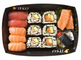 how healthy is your sushi snack? lunch boxes from high street chains can contain more calories than a big mac (and more sugar than biscuits)