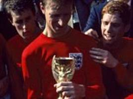 fifty years on england fans get the chance to buy iconic 1966 world cup final pics of bobby moore, bobby charlton, alf ramsey and co