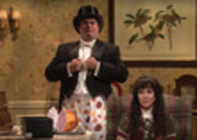 video: kristen wiig stars in two weird cut-for-time snl sketches