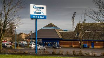 walking footballer collapses and dies at queen of the south arena