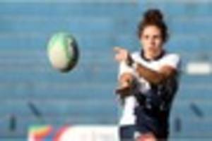 former hartpury starlet abbie brown hopes to captain england...