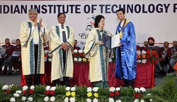 iit ropar celebrates its 5th annual convocation