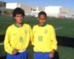 reunited: old friends coutinho and neymar ready for world cup bid