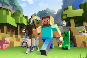 the minecraft movie is happening - with a familiar lead