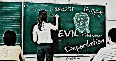 schools and colleges are making students even more terrified of trump