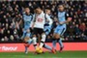 derby county striker sets his goals' target for the season