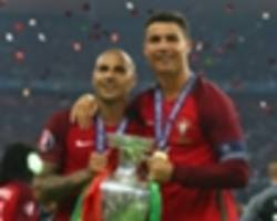 ronaldo: i woke up with three blondes on euro 2016 final day
