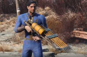 it won't turn ghouls into dust, but this 'fallout 4' rifle is a thing of beauty