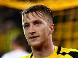 borussia dortmund's marco reus had his hat-trick taken away but he could not have wished for a better return... if he can put his injury hell behind him he can help challenge for the bundesliga