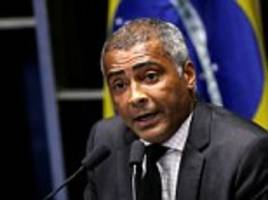 world cup winner romario claims allegations of racketeering against brazil football bosses could be 'the biggest sports scandal of all time'