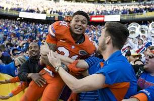 Florida Gators Football Moves Up In The College Football Playoff Rankings