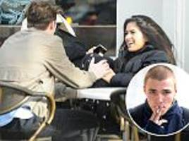 brooklyn beckham swoops in on rocco ritchie's girlfriend kim turnbull for giggly lunch