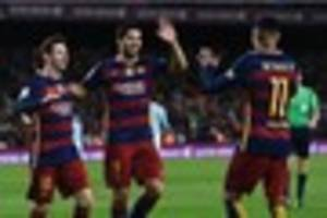 bristol city will actually be facing barcelona when they meet...