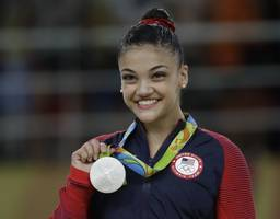 'dancing with the stars': olympian laurie hernandez adds mirrorball trophy to her gold medal